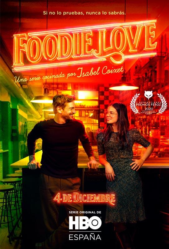 Poster Foodie Love whit Rachel Lascar