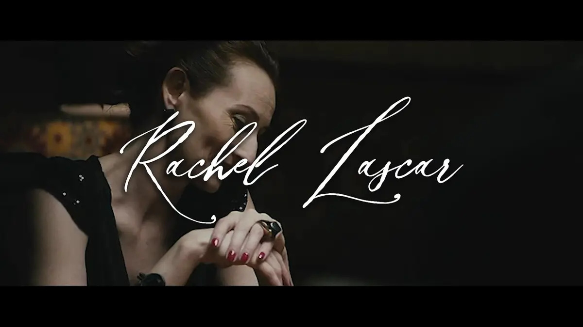 French reel of the actress Rachel Lascar